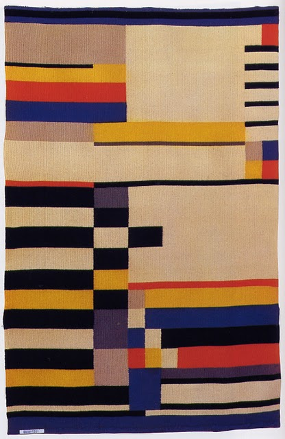 The milanese wall hanging ruth hollos consemuller 1930 for Bauhaus 3d tapete