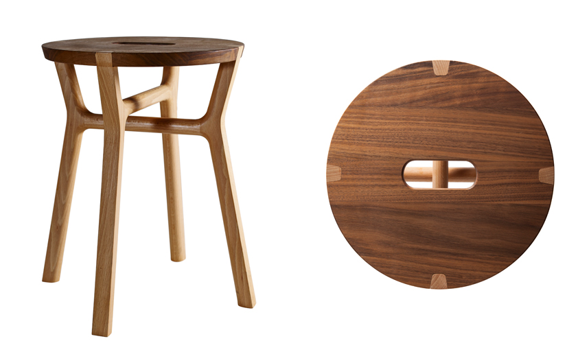 The Milanese Affi Stool Design By Giulio Iacchetti For