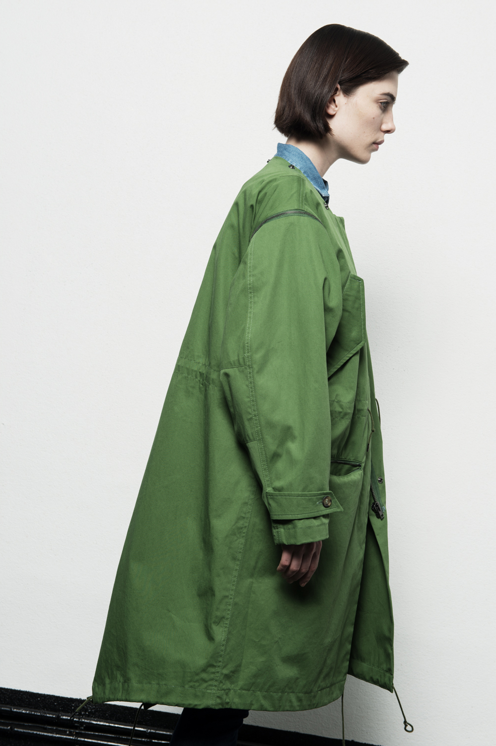The Milanese. » Hunter Weller Army, Oversized Fishtail Parka In ...