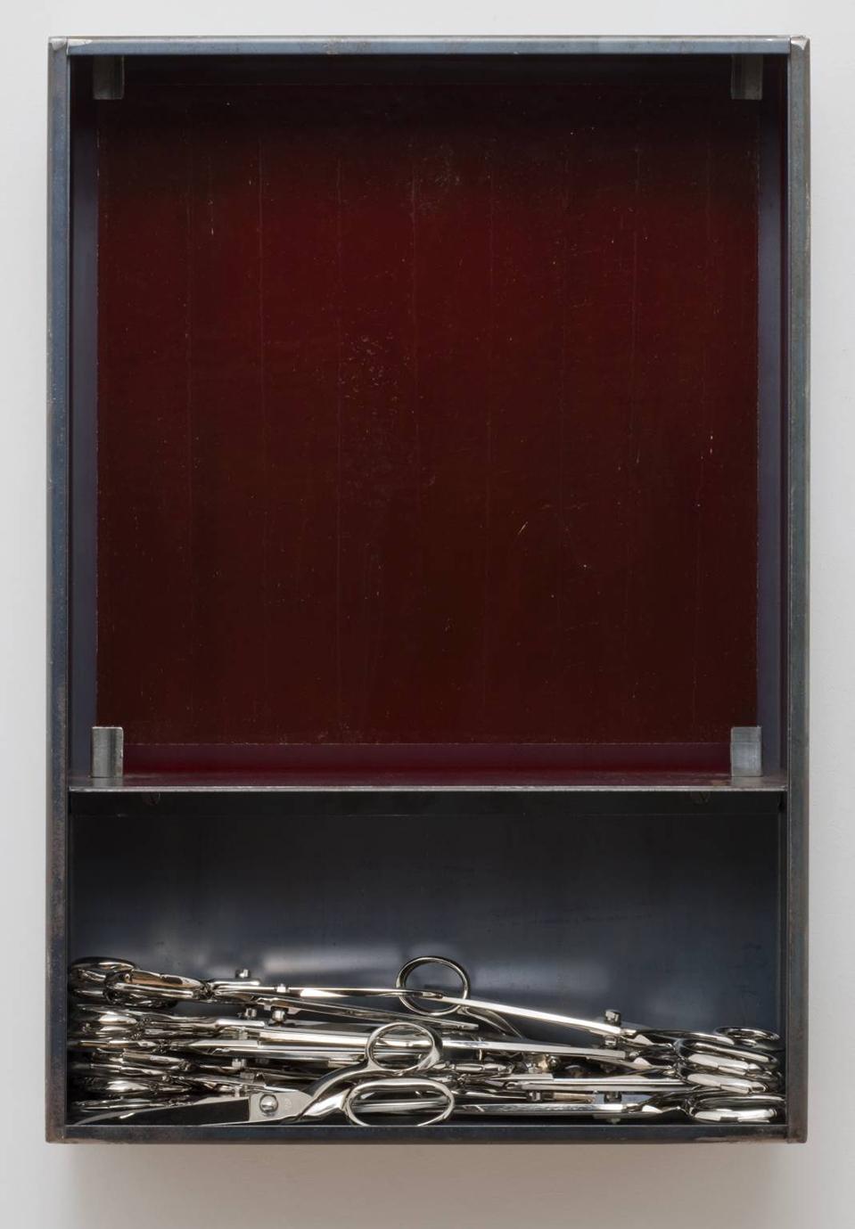 Untitled (Scissors) 2004 by Jannis Kounellis born 1936