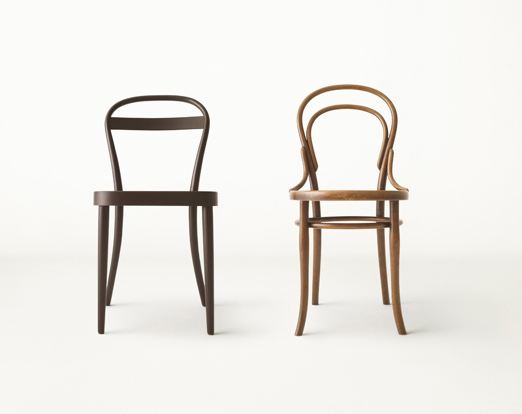 The milanese muji thonet chair james irvine muji 2009 for Chaise bentwood