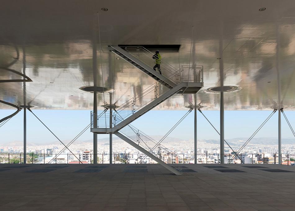 Renzo Piano Stavros Niarchos Foundation Stair