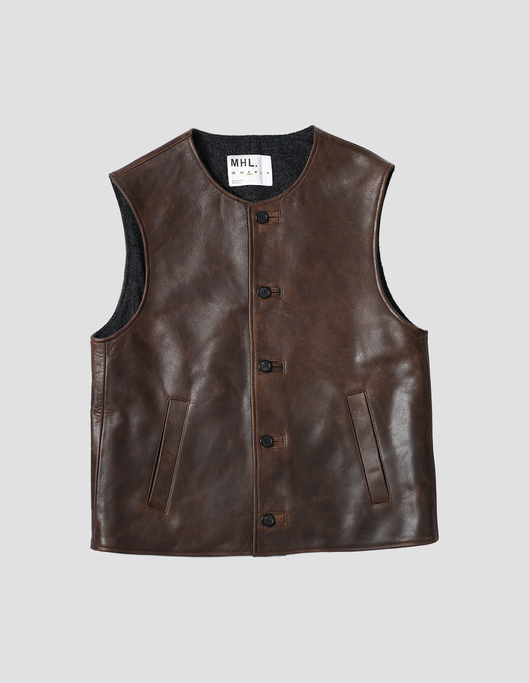 margaret-howell-women-aw17-coalmans-jerkin-cow-hide-diesel-brown