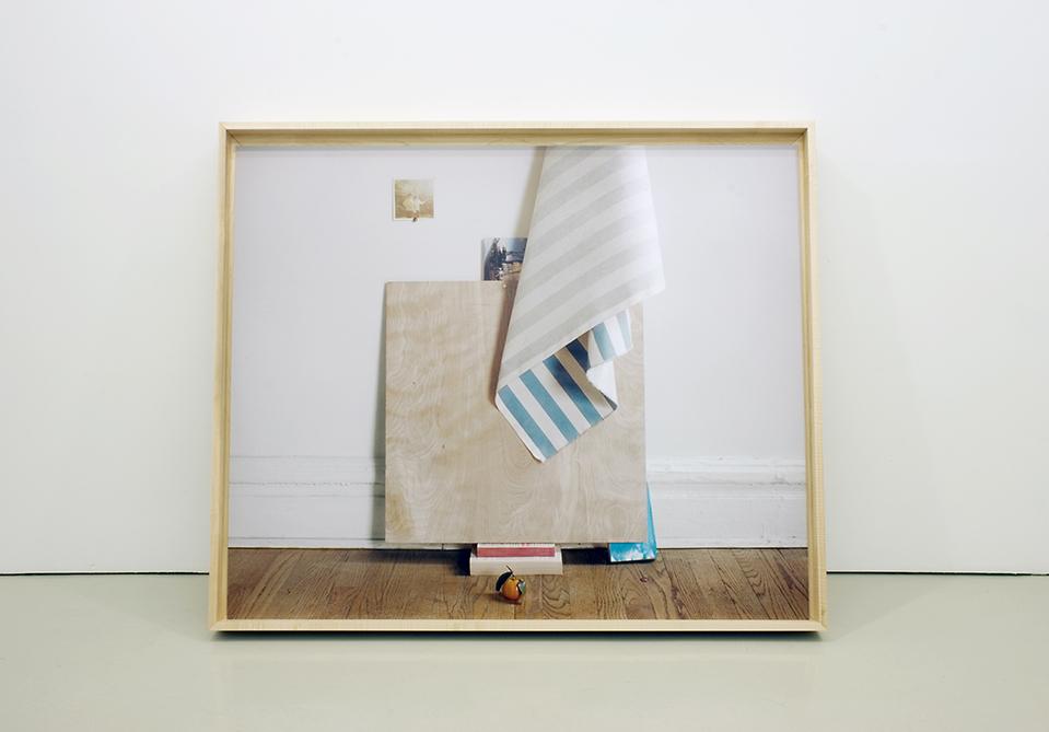 The Milanese. » Untitled, Digital chromogenic print in custom maple ...