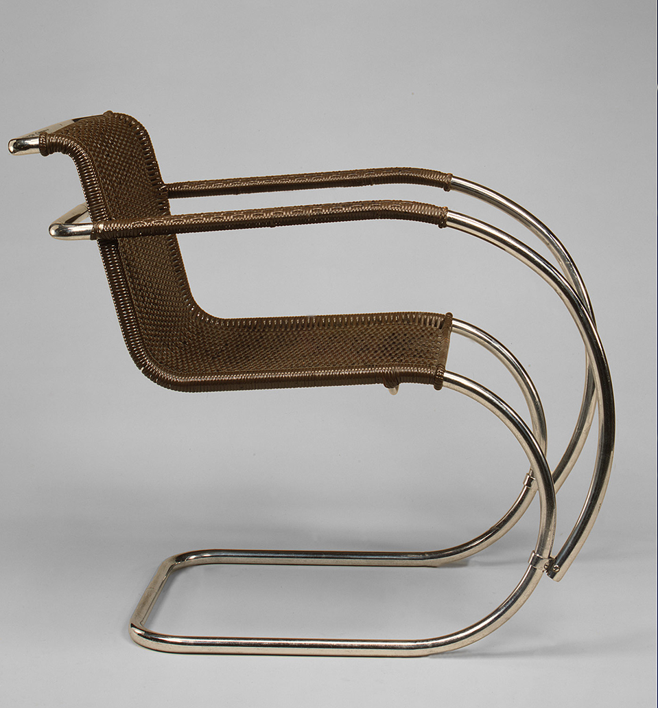 "Working Title/Artist: 1927, Ludwig Mies van der Rohe: ""MR"" Armchair Department: Modern Art Culture/Period/Location:  HB/TOA Date Code:  Working Date:  scanned for collections"