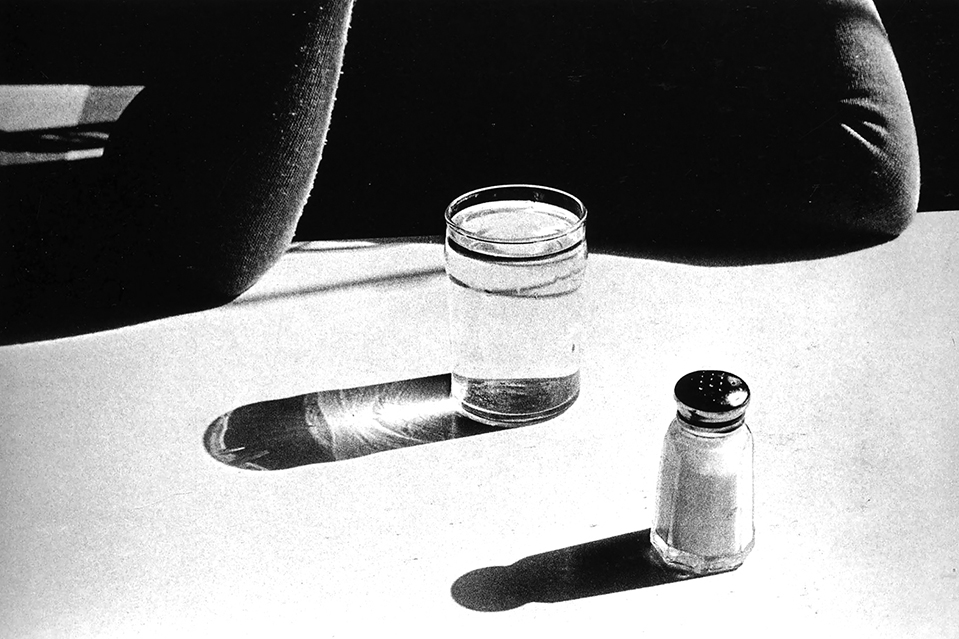 ralph-gibson-quadrant-water-glass-and-salt-shaker-1975
