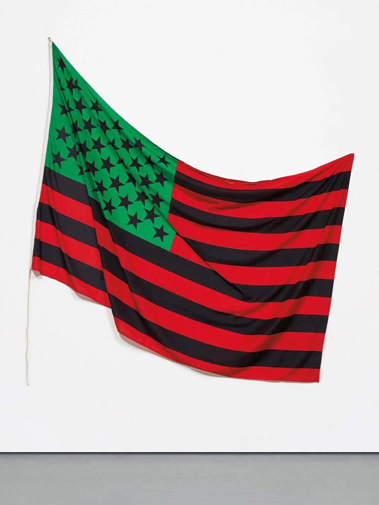 David-Hammons-–-African-America-Flag-1990-dyed-cotton-149.86-x-234.315-cm-59-x-92-14-in.-scaled-1