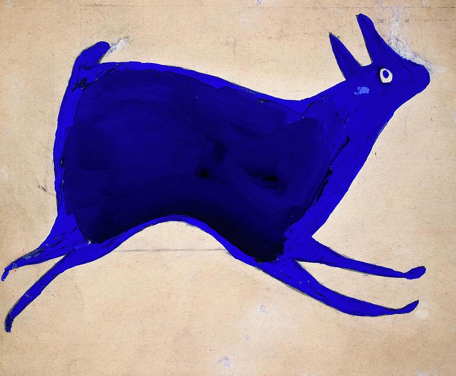 blue-rabbit-running-bill-traylor